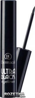 Жидкая подводка для глаз Dermacol Ultra Black Eyeliner 2.8 мл Черная (85950900)