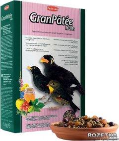 Повседневный корм для насекомоядных и плодоядных птиц Padovan Granpatee Fruits 1 кг (PP00192)