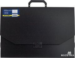 Портфель пластиковый Buromax Professional A3/32 мм на 1 отделение Черный (BM.3725-01)