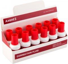 Набор корректоров жидких Axent 12 шт 20 мл (7001-A)