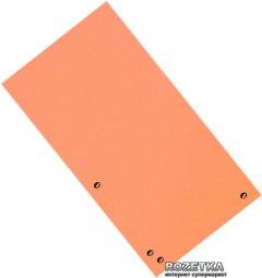 Картонные закладки Donau 100 штук Оранжевые (8620100-12PL)