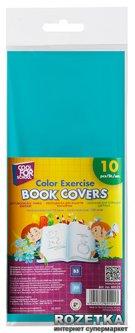 Набор обложек для тетрадей 10 шт Cool For School 35x20.8 см Цветные (CF69121)