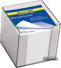 Пластиковый бокс с белой бумагой Buromax 1000 л Дымчатый (BM.2290-02)