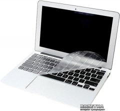 Защита клавиатуры JCPAL FitSkin для MacBook Air 12 (US Layout) (JCP2149)