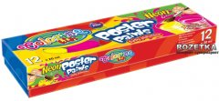 Краски гуашевые Colorino Неон 12 цветов 20 мл в картонной упаковке (19880PTR)