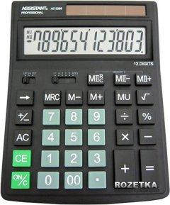 Калькулятор электронный Assistant 12-разрядный (AC-2388)
