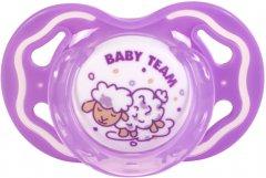 Пустышка силиконовая Baby Team классическая Фиолетовая (3014_фиолетовая)