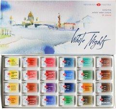 Набор акварельных красок Невская палитра Белые Ночи 24 цвета (4607010582203)