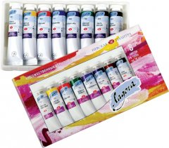 Набор акриловых красок Невская палитра Ладога 8 цветов 18 мл (4607010589271)