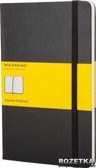 Записная книга Moleskine Classic 13 х 21 см 240 страниц в клетку Черная (9788883701139)