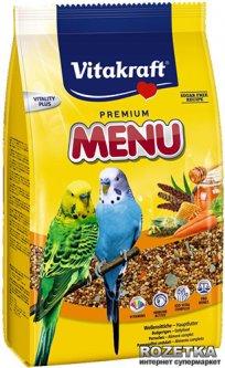 Повседневный корм для волнистых попугаев Vitakraft Menu Vital 500 г (4008239214416)