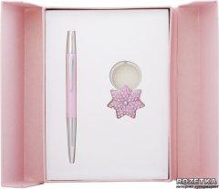Набор подарочный (ручка шариковая + брелок) Langres Star Красный (LS.122014-10)