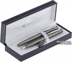 Комплект ручек (перьевая + шариковая) Regal Графитовый корпус в подарочном футляре (R80408.L.BF)