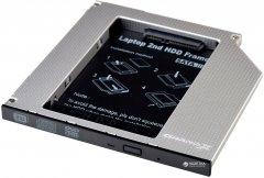 Адаптер подключения Grand-X HDD 2.5'' в отсек привода ноутбука SATA/mSATA (HDC-24)