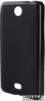 Панель Drobak Elastic PU для Microsoft Lumia 430 (Nokia) DS Black (215626)