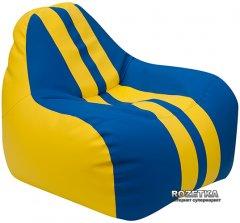 Кресло-Груша Примтекс Плюс Simba Sport H-2240/H-2227 M Yellow-Blue (ordf)