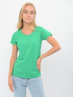 Футболка Fruit of the loom Valueweight Ladies 061372047 M Зеленая (5000000005598)