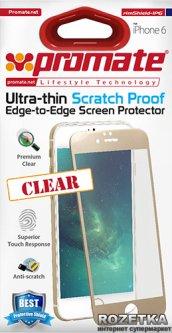 Защитная пленка Promate для Apple iPhone 6/6s White глянцевая (rimshield-ip6.white)