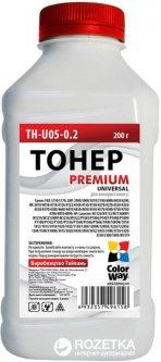 Тонер ColorWay HP LJ P1005/1102/1010/2035 Premium 200 г (TH-U05-0.2)