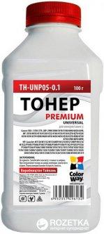 Тонер ColorWay HP LJ P1005/1102/1010/2035 Premium 100 г (TH-U05-0.1)