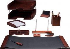 Набор настольный деревянный Bestar 10 предметов Темная вишня (0293DDV)