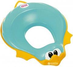 Детская накладка на унитаз Ok Baby Ducka анатомической формы Бирюзовая (37857230)