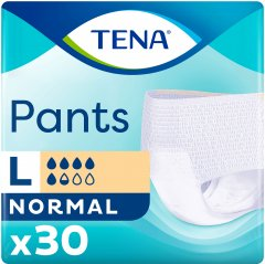 Подгузник -трусики для взрослых Tena Pants Normal Large 30 шт (7322540630336/7322541150895)