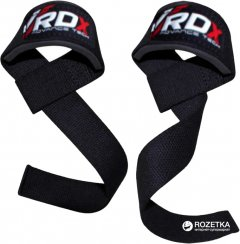 Лямки для тяги RDX Black (399_20213)