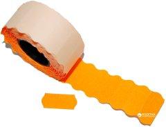 Этикет-лента Aurika 26х12 мм 1000 этикеток фигурная 25 шт Orange (2612O)