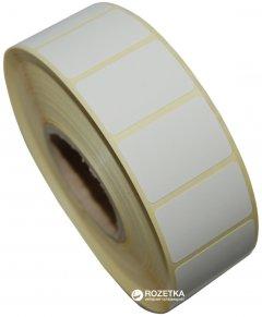 Этикетка Aurika Vellum 30х20 мм 2000 этикеток прямоугольная 10 шт White (3020W)