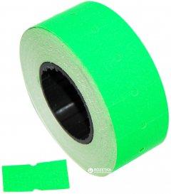 Этикет-лента Aurika 21х12 мм 1000 этикеток прямоугольная 30 шт Green (2112G)