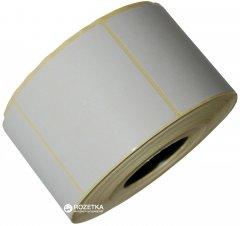 Этикетка Aurika Vellum 58х59 мм 1000 этикеток прямоугольная 10 шт White (5859W)