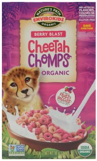 Завтрак сухой Nature's Path Cheetah Chomps Envirokidz 284 г (058449185048)