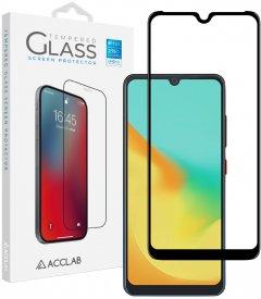 Защитное стекло ACCLAB Full Glue для ZTE Blade A7 2019 Black (1283126508851)