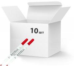 Набор маркеров для текстиля Centropen Textile 1.8 мм 10 шт Красных (2739/02) (8595013625125)