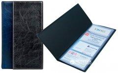 Визитница Axent на 80 визиток 260х114 мм Синяя (2502-02-А)