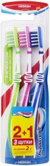 Зубная щетка Aquafresh In-between Clean Medium *3 (5054563931085)
