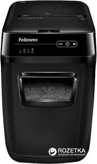 Шредер Fellowes AutoMax 130C 130 листов 4х51 мм 31 л (ff.U4680101)