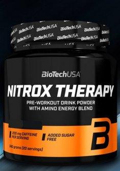 Предтренировочный комплекс Biotech Nitrox Therapy 340 г Персик (5999076224425)