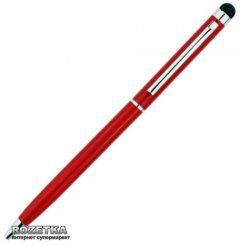 Стилус Value с шариковой ручкой для емкостных экранов Красный (S0535)