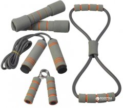 Набор для тренировок LiveUp Training Set Gray+Orange (LS3516)