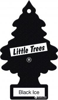 Ароматизатор LITTLE TREES Ёлка Черный лед (7612720201068)