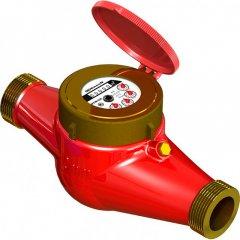 Счетчик водяной GROSS MTW-UA 50 (с сгоном бронза) для горячей воды