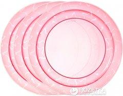 Тарелочка мелкая Tommee Tippee 3 шт Розовая (5010415303165_розовые)