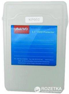 """Контейнер Maiwo защитный для HDD 3.5"""" White (KP002 white)"""