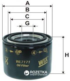 Фильтр масляный WIX Filters WL7171 - FN OP617