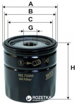 Фильтр масляный WIX Filters WL7086 - FN OP540/1