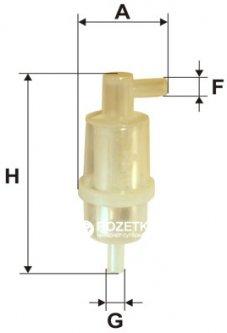 Фильтр топливный WIX Filters WF8125 - FN PS820-PS820/T