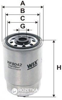 Фильтр топливный WIX Filters WF8042 - FN PP837