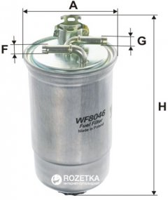 Фильтр топливный WIX Filters WF8046 - FN PP839/1